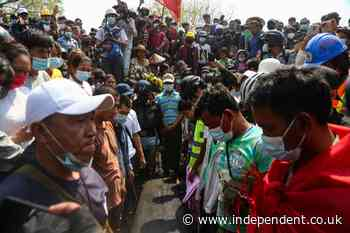 Myanmar: Hundreds mourn 'Everything will be ok' protester after worst day of violence