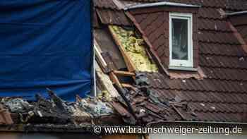 Explosion im Reihenhaus: Leiche in zerstörtem Haus gefunden - Verdacht auf Totschlag