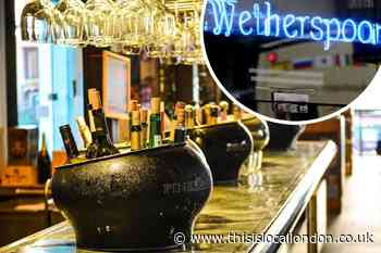 Full list of south London Wetherspoon's to reopen April 12