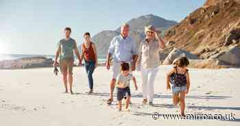 Brits keen to make up for lost time look to bumper holidays with extended family