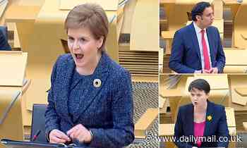 Labour, Lib Dems and Tories unite to condemn Nicola Sturgeon