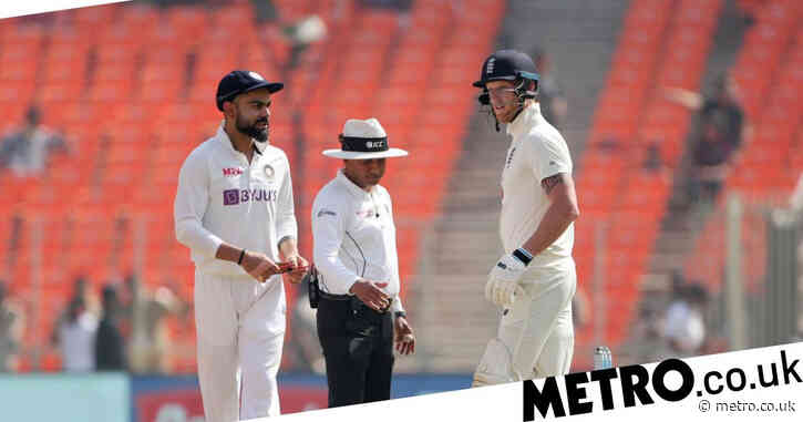 'Neither of us are going to back down' – England all-rounder Ben Stokes plays down Virat Kohli row in fourth India Test