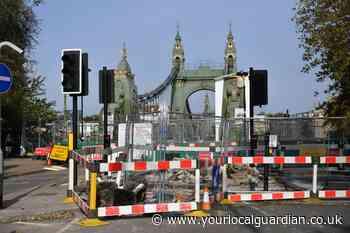 Row over Hammersmith Bridge repair costs