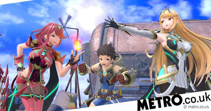 Pyra and Mythra are out today for Super Smash Bros. Ultimate