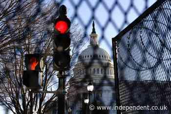 The Latest: Congressman braces for threat against Capitol