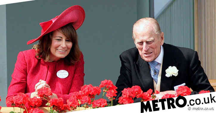 Kate Middleton's mum refuses publicity drive while Prince Philip is in hospital