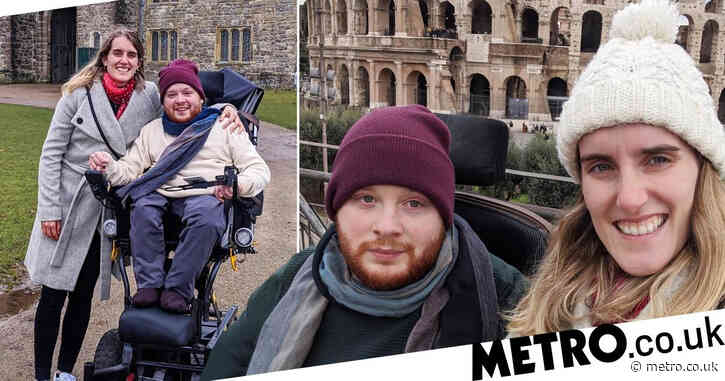 Disabled man hits back at people who think his girlfriend is his carer
