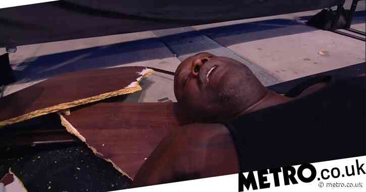 Shaquille O'Neal massively impressed WWE legend Mick Foley by crashing through table on AEW Dynamite