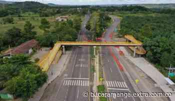 ANI entregó cinco puentes peatonales en Barrancabermeja y Betulia - Extra Bucaramanga