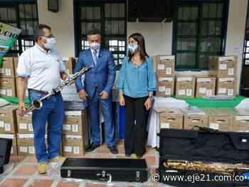 Ministra de Educación inauguró construcción educativa en Supía - Eje21