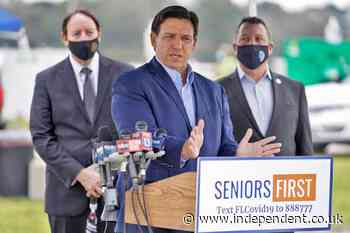 Wealthy Florida Keys community of governor's donors received Covid vaccine as rest of state struggled