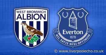 West Brom vs Everton LIVE - team news and stream