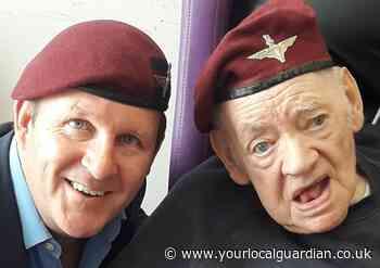 Funeral held for James 'Jimmy' Ashdown, parachute veteran