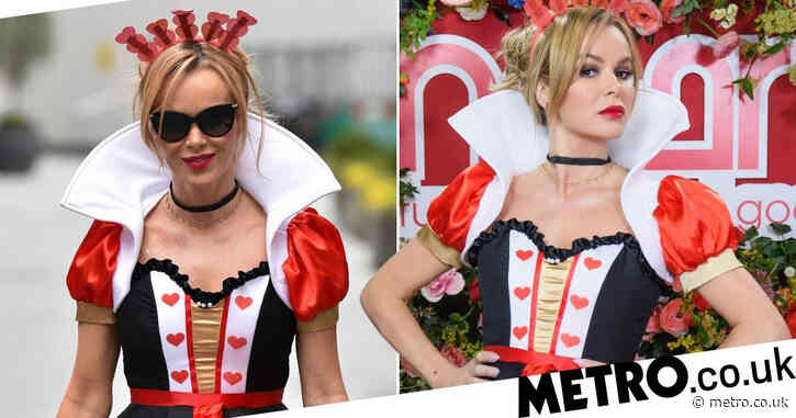 Amanda Holden is the queen of all our hearts as she slays fancy dress for World Book Day