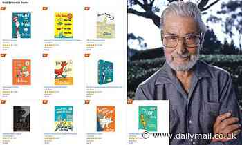 Dr. Seuss books are NINE of the top 10 best-selling titles on Amazon