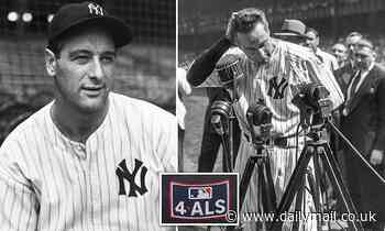 MLB launches annual Lou Gehrig Day to be held on June 2 to help fight ALS