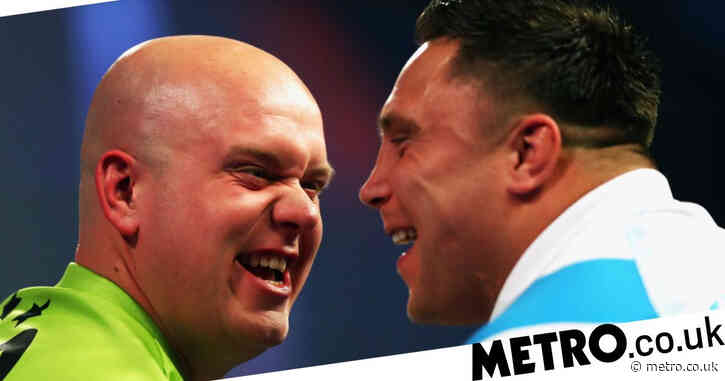 Michael van Gerwen sends warning to Gerwyn Price: 'He's going to find it tough'