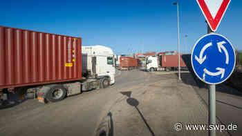 Containerbahnhof Dornstadt: Staus und Überholverkehr am Containerbahnhof: So soll sich die Situation verbessern - SWP