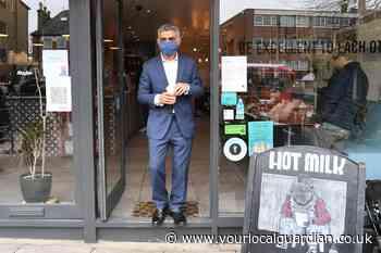 Sadiq Khan launches London Mayor re-election bid