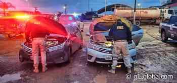 Em Itaituba, PRF identifica e apreende carro que foi roubado e clonado no Mato Grosso - G1