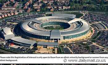 GCHQ publishes post in IT department only for people 'from an ethnic minority background or women'