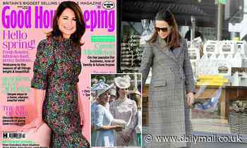 Pippa Middleton PREGNANT: Mother Carole opens up in Good Housekeeping interview