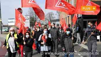 Warnstreik in Augsburg: MAN-Mitarbeiter fordern Jobsicherheit und mehr Lohn