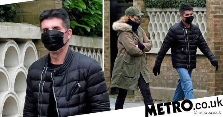 Piers Morgan has competition as Simon Cowell goes for lockdown stroll with another friend