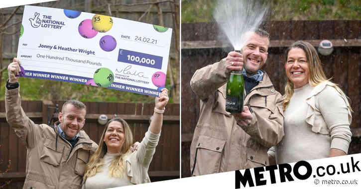 Furloughed bartender wins £100,000 on Lottery scratchcard