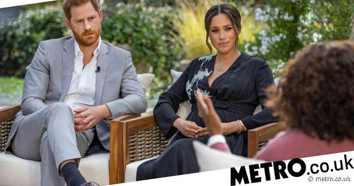 How can I watch Harry and Meghan Markle's Oprah interview in the UK?