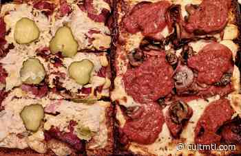 Detroit pizza finds a pop-up home with Fungool on Monkland - Cult MTL