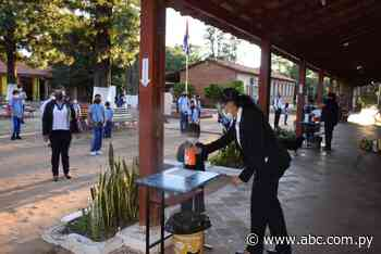 Alumnos inician clases en San Juan Nepomuceno - Nacionales - ABC Color