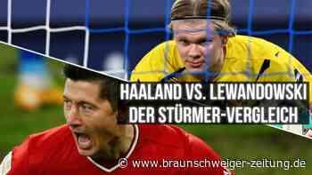 Haaland vs. Lewandowski: Die Tormaschinen im direkten Vergleich