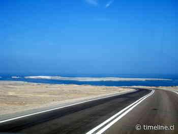 Investigan fatal accidente de motociclista rumbo a Isla Santa Maria de Antofagasta - Timeline.cl