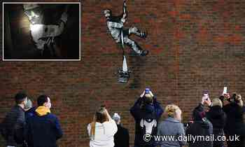 Banksy posts video confirming he painted mural on Reading Jail where Oscar Wilde served time