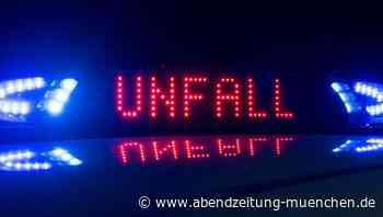 Unfall in Grasbrunn: Polizei im Einsatz kracht in Auto - Abendzeitung