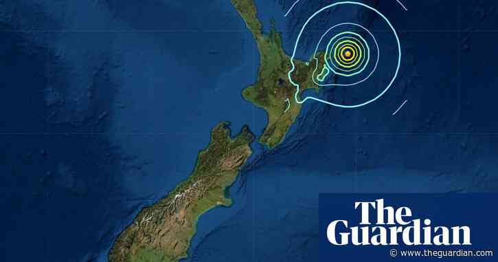 Earthquake rated at 8.0 magnitude strikes off North Island, New Zealand