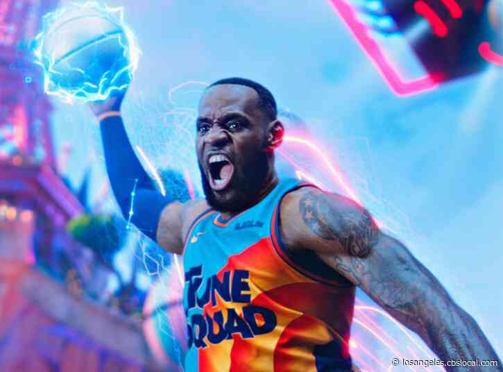 LeBron James Shares First-Look Photos Of Upcoming 'Space Jam: A New Legacy' Movie