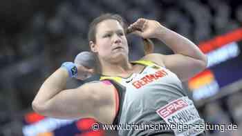 Titelkämpfe in Torun: Christina Schwanitz im Kugelstoß-Finale der Hallen-EM