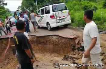 Colapsan 15 puntos críticos de tramo carretero Cuñumbuque-San José de Sisa - Diario Voces