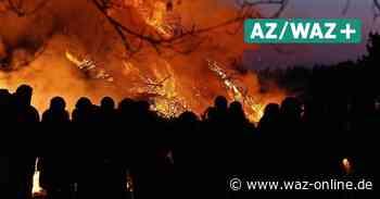Gemeinde Sassenburg: In diesem Jahr wird es wieder keine Osterfeuer geben - Wolfsburger Allgemeine