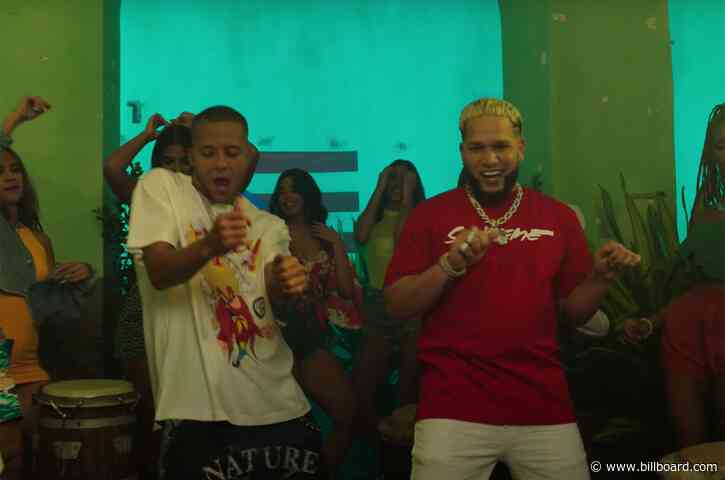 Nio García & Casper Mágico's 'Travesuras' Powers to No. 1 on Latin Airplay Chart