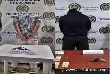 Sorprenden armados a dos sujetos en hechos aislados en el Tolima - Alerta Tolima