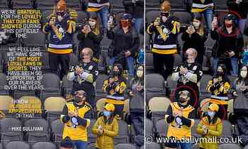 Pittsburgh Penguins are under fire for photoshopping masks onto fans' faces