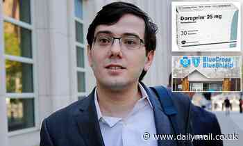 'Pharma Bro' Martin Shkreli is sued by health insurers after hiking the price of HIV medication