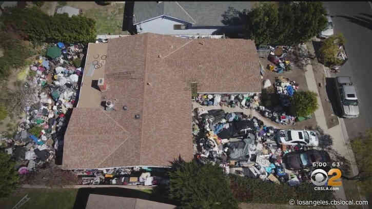 Granada Hills Junk House: 'Hoarders' TV Show, City, LAPD Get Involved As Junk Remains Piled In Yard Of Granada Hills Home