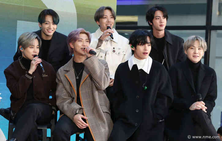 BTS have been named the best selling global act of 2020