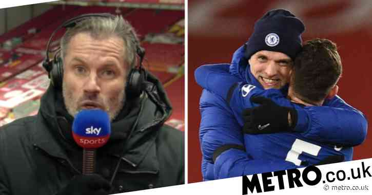 Jamie Carragher praises 'brave' Thomas Tuchel for 'big decision' in Chelsea's win over Liverpool