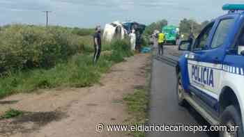 Villa del Totoral: cinco vehículos participaron de un choque múltiple - El Diario de Carlos Paz