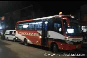 Frustran atraco a bus intermunicipal en Tocancipá, Cundinamarca - Noticias Día a Día